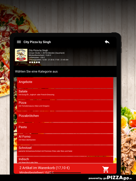 City Pizza by Singh Menden screenshot 8