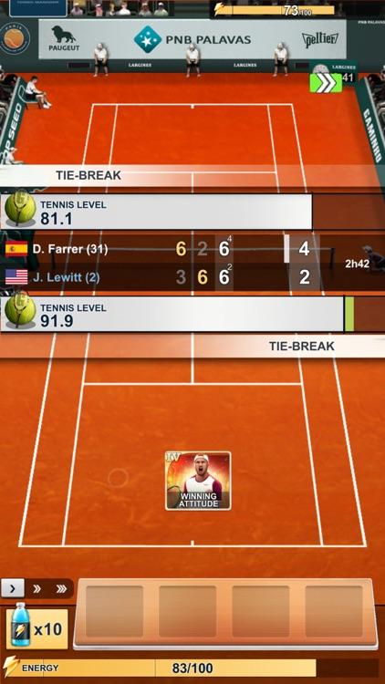 TOP SEED Tennis Manager 2021 screenshot-3