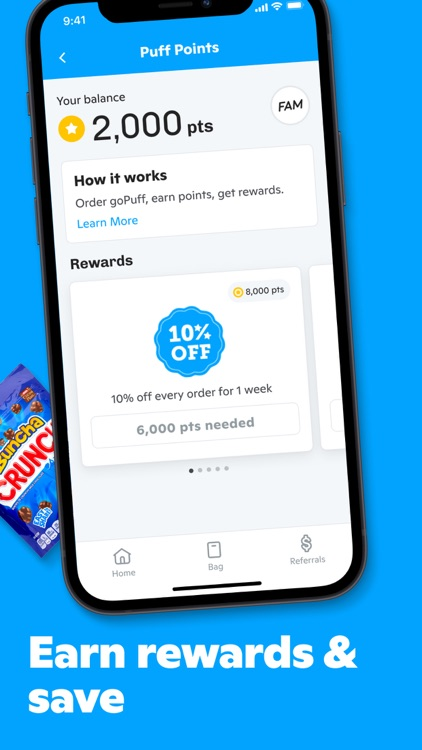 Gopuff—Alcohol & Food Delivery screenshot-4