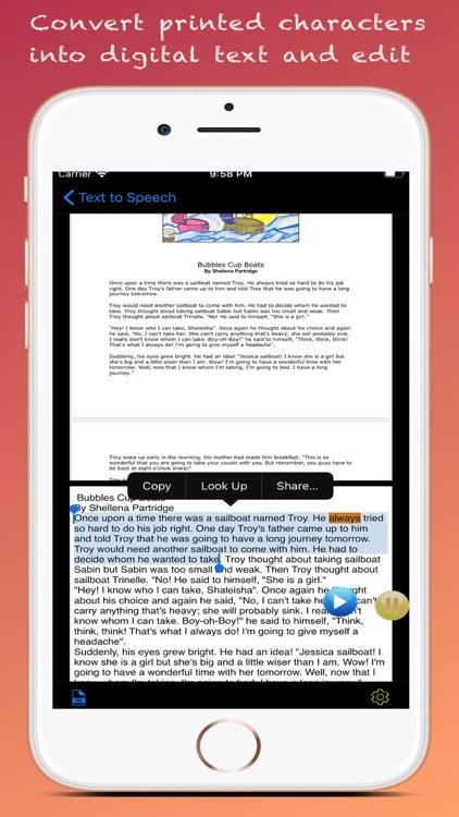 Text to Speech : Text to Voice screenshot-3