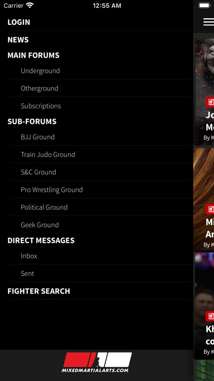 MixedMartialArts.com screenshot-1
