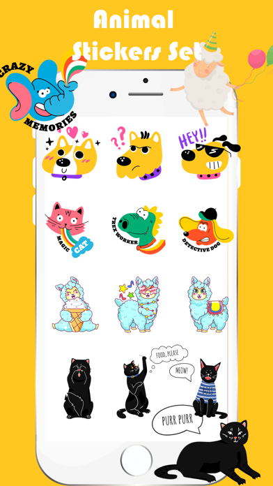 Animal Toon Stickers screenshot 4