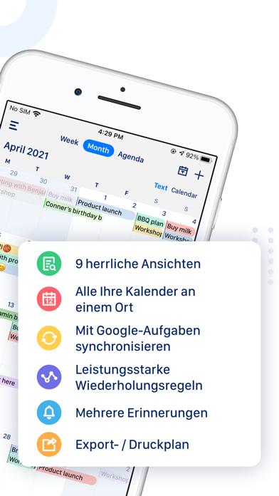 Calendar App: Tasks & CalendarScreenshot von 2