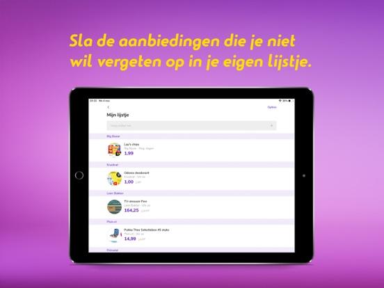 Reclamefolder iPad app afbeelding 5