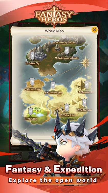 Fantasy Heros : Idle RPG Game