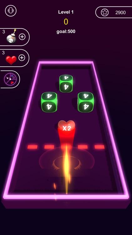 Neon Cubes 2048 screenshot-3