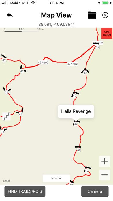 Moab ATV Jeep Trails Screenshot