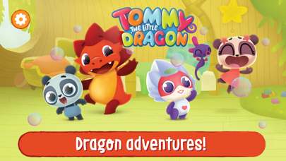 Screen Shot Tommy The Dragon Magic Worlds! 0