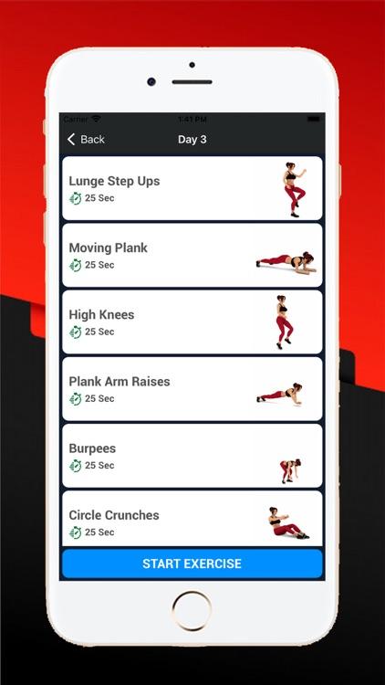 30 Days Abs Workout Exercises screenshot-3