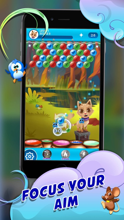 Catly: Bubble Shooter screenshot-2