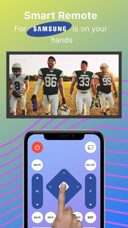 Remote control for Samsung screenshot-4