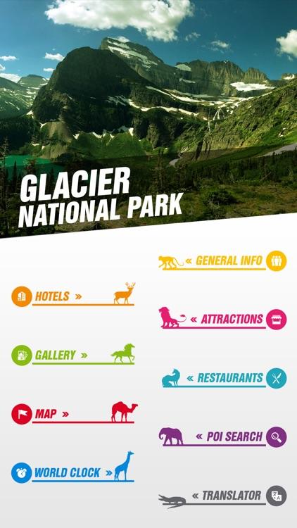 Glacier National Park Tourist
