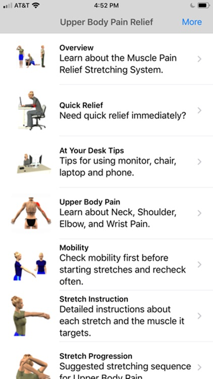 Stretch for Pain Relief Upper screenshot-0