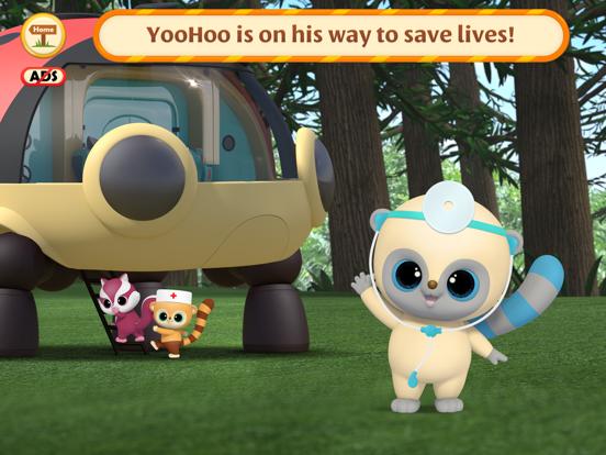 Ipad Screen Shot YooHoo & Friends: Doctor Games 1