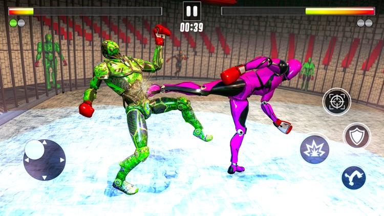 Immortal Robot Fight Challenge