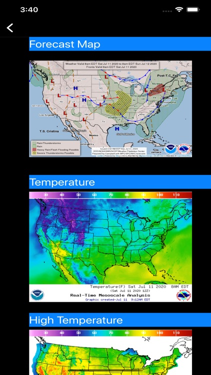 US NOAA Radars 3D Pro screenshot-6