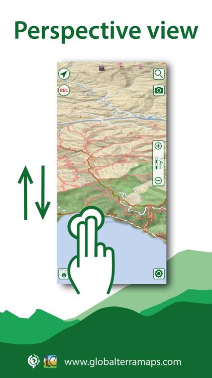 Terra Map: GPS Hiking maps screenshot-7