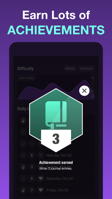 Self-Harm Tracker + Counter Screenshot