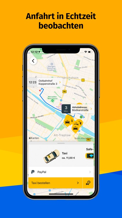 Taxi Berlin screenshot-8