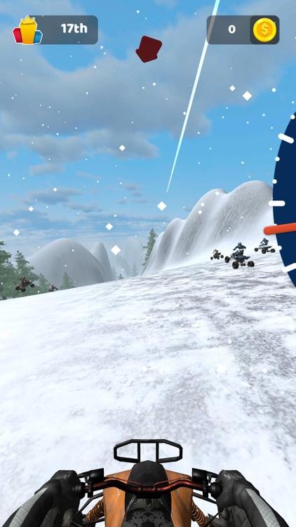 ATV Mountain Race