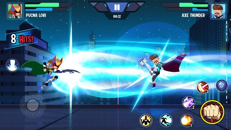 Stickman Heroes Fight