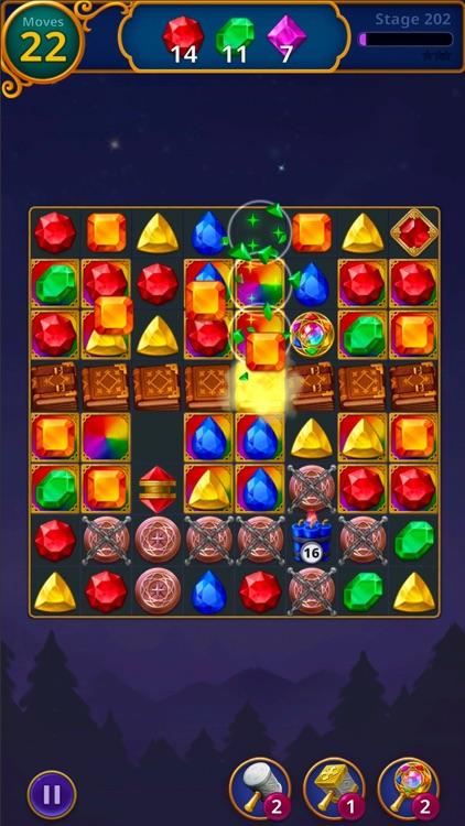 Jewels Magic: Mystery Match3 screenshot-4