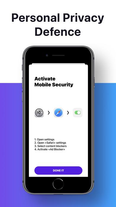 Mobile Security Adblock Screenshot