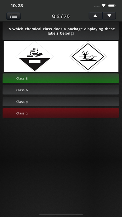 ADR QUIZ - Dangerous Goods screenshot 3