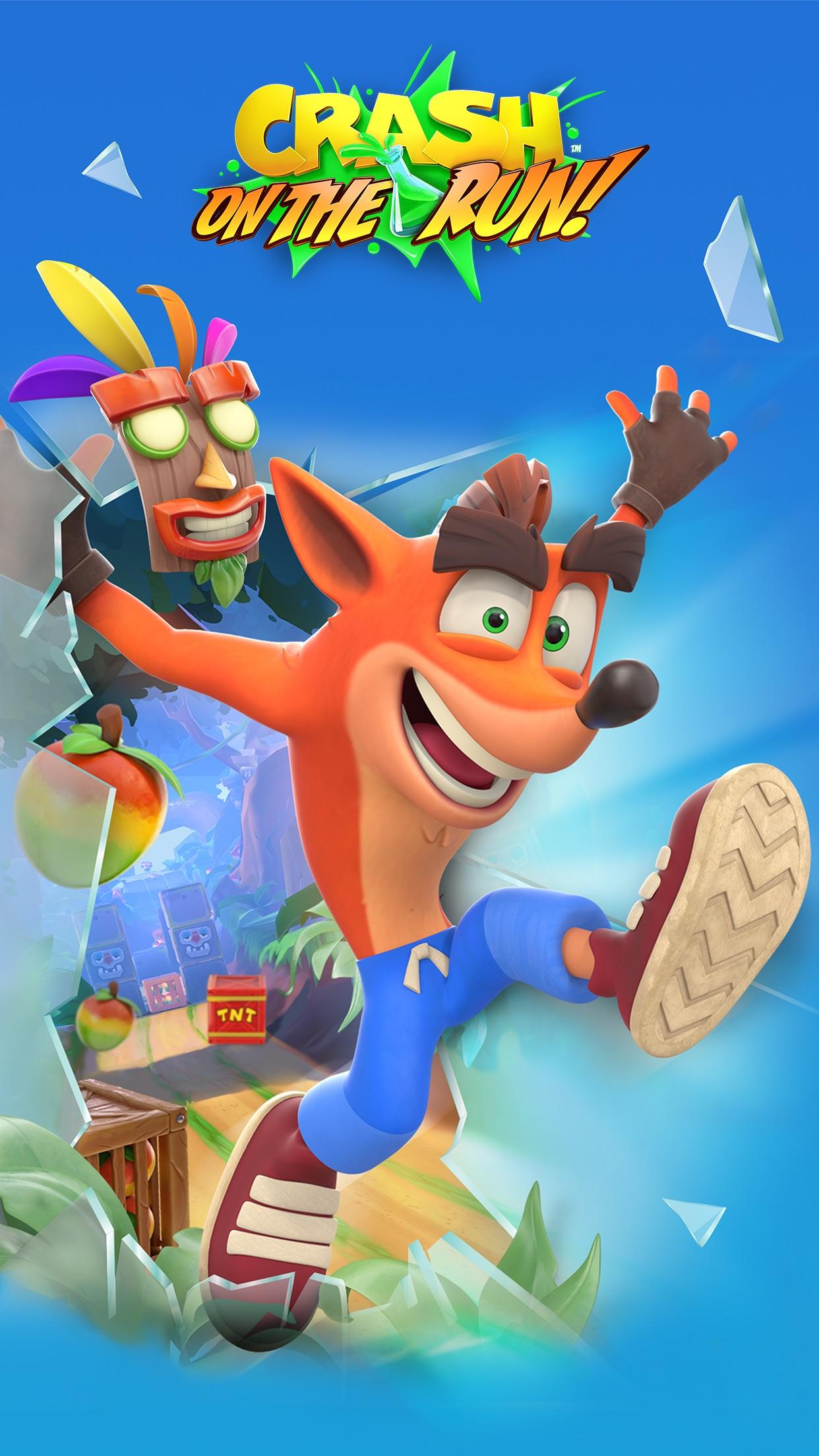 Screenshot do app Crash Bandicoot: On the Run!