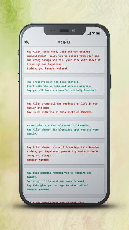 Ramadan Mubarak Greeting Card screenshot-7