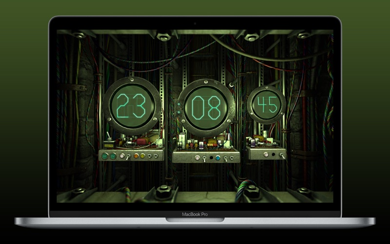 Digital Clock 3D Screenshots