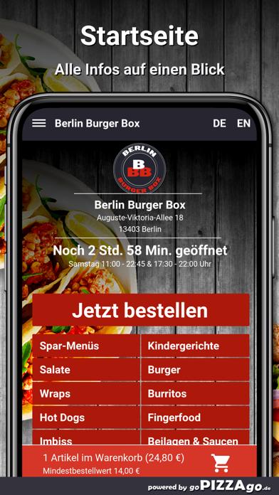 Berlin Burger Box Berlin screenshot 2