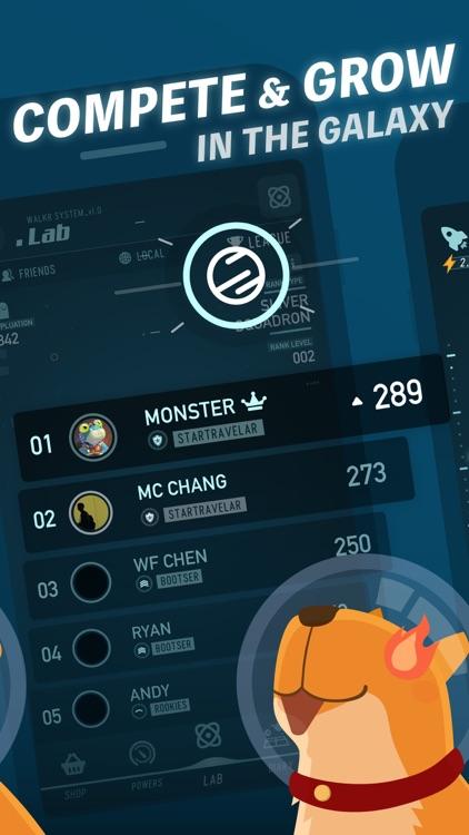 Walkr - Gamified Fitness Game screenshot-6