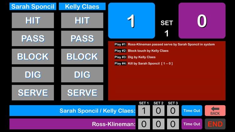 BBS Beach Volleyball Stats screenshot-3