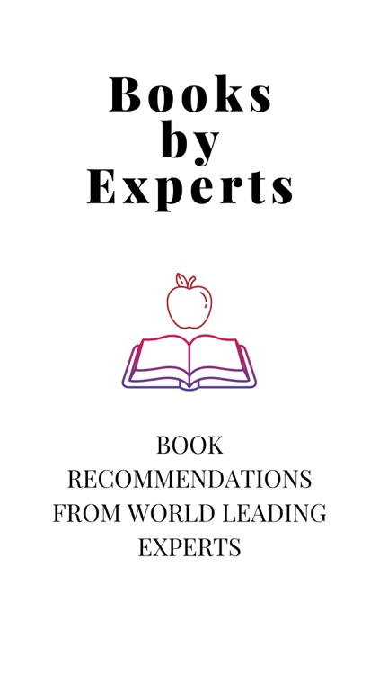 Books by Experts: Reading List