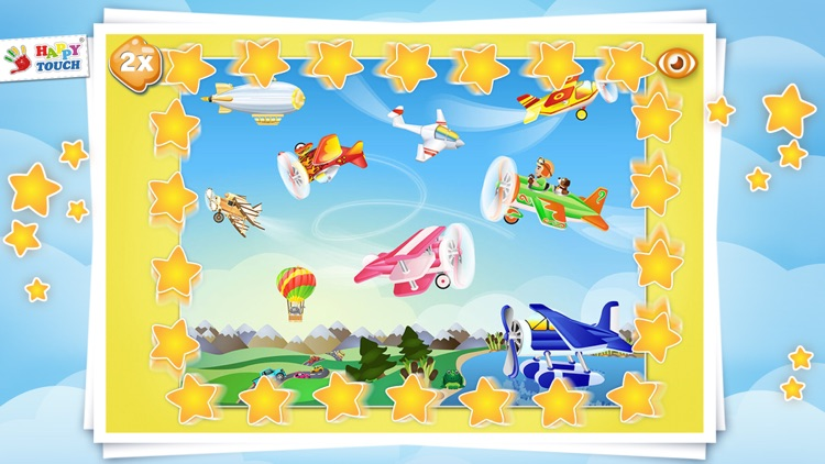 AIRCRAFT-PUZZLE Happytouch® screenshot-4