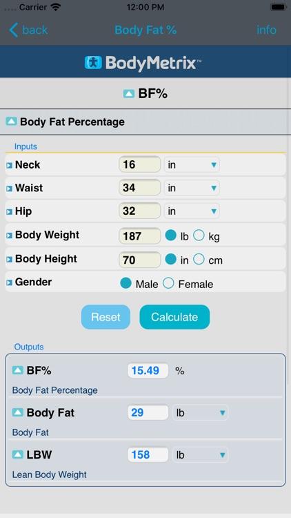 BodyMetrix screenshot-6