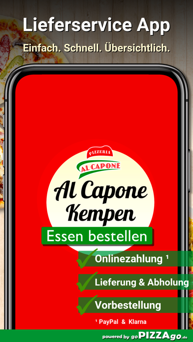 Pizzeria Al Capone Kempen screenshot 1