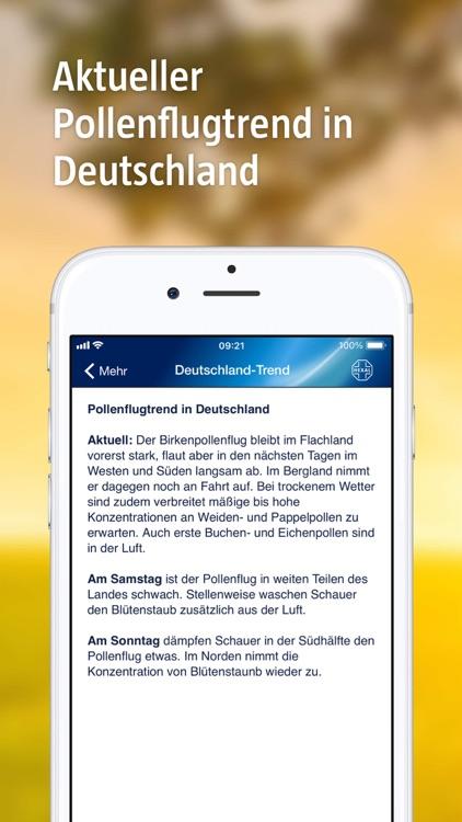 Pollenflug-Vorhersage screenshot-5