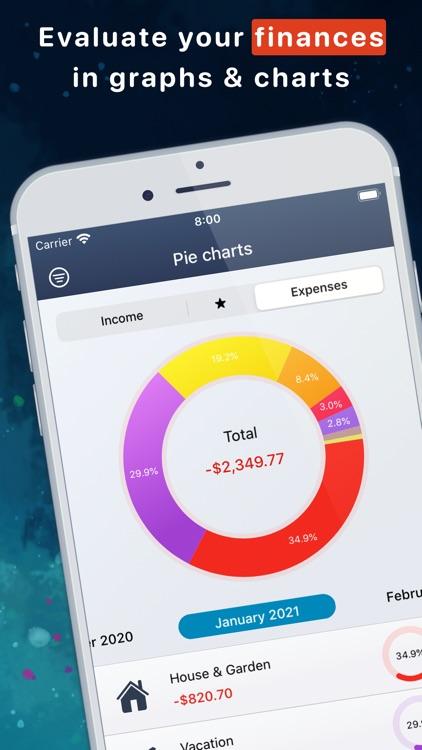 MoneyStats - Budget Planner screenshot-0
