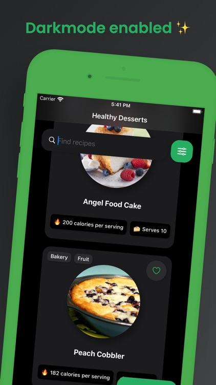 Healthy Dessert Recipes screenshot-3