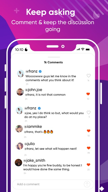 Spinym: Anonymous Q&A, Stories screenshot-4