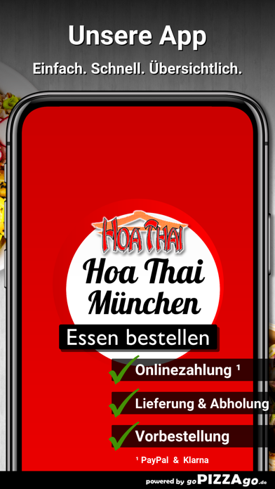 Hoa Thai Restaurant München screenshot 1