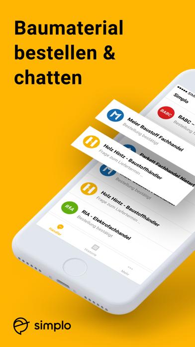 Simplo - Die Handwerker AppScreenshot von 1