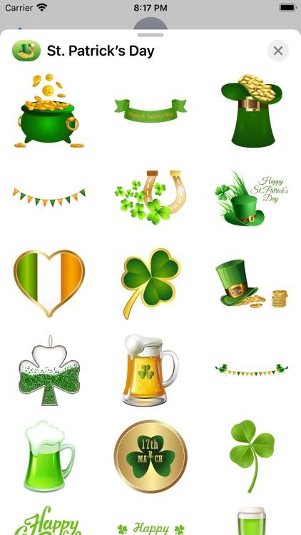 St. Patrick's Day Stickers screenshot-3
