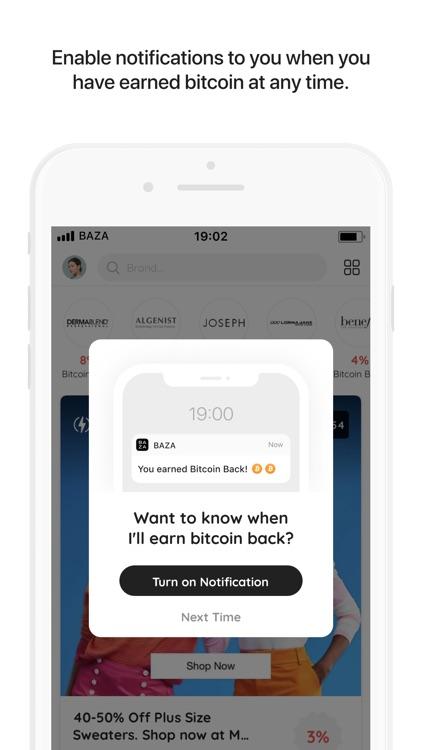 Baza.com: Bitcoin Cash Back screenshot-4