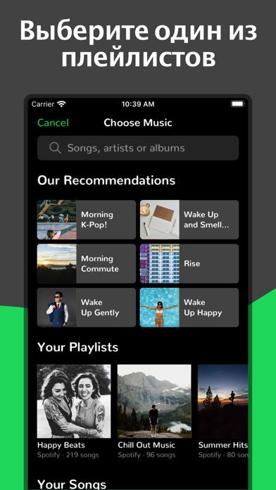 Скриншот №2 к Сигнализация для Spotify