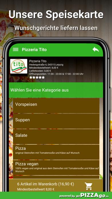 Pizzeria Tito Leipzig screenshot 4