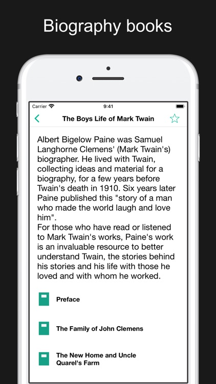 Mark Twain's works and quotes screenshot-8
