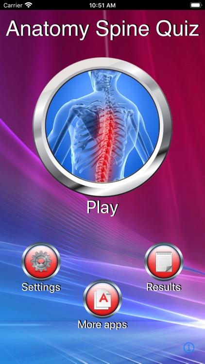 Anatomy Spine Quiz